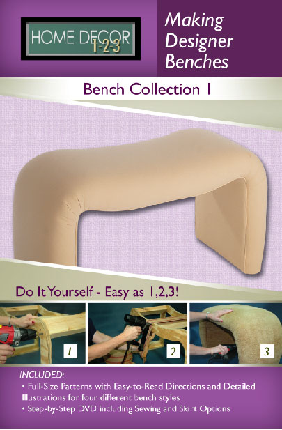 Home Decor 1-2-3 Bench Projects